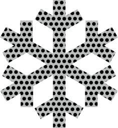 snowflake winter crystal ice
