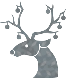 winter reindeer christmas