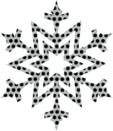 snowflake frost ice