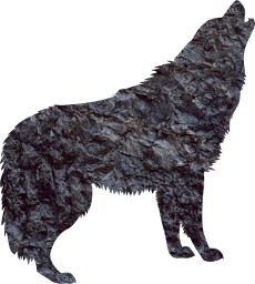 avatar dog wild bark noise calling wildlife werewolf animal timber shape mammal cut-out carnivore beast wolf call howling shadow outline creature predator canine howl