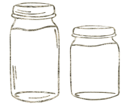 food glass jar container jam clip art