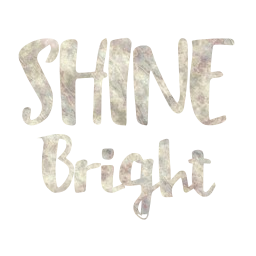 shine glitter object gold silver girly bright words