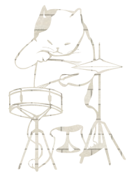 jazz cat instruments music drum musical