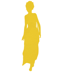 model woman standing