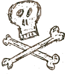 bones request pirate poison completed skull skulls 14 crossbones dirty