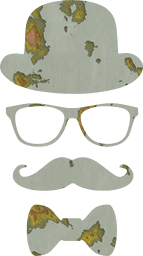 mustache nerd eye hat party disguise man glasses