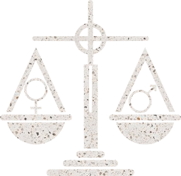 law lawyer masculine scales symbol gender woman measure female feminine balance court weight man justice equality male