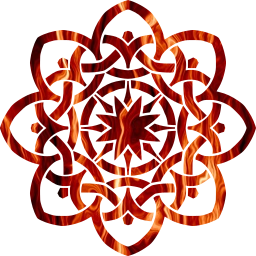 ornamental line decorative geometric celtic abstract knot design art