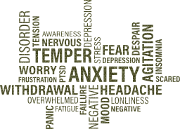depression tag anxiety anger concept medicine damage mood word feeling illness character emotional stress cloud health brain mental physical
