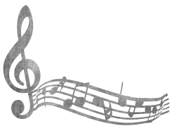 note melody colored music treble clip clef art