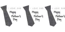event father card polka square set day june fathers twitter logo tie holiday dad dots web facebook pop happy design