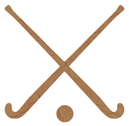 crossed ball games hockey stick sports
