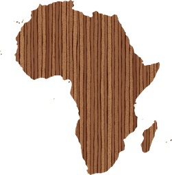 continent africa map