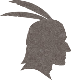 face profile american native feathers indian head man chief male