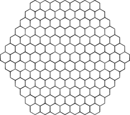 geometry honeycomb hexagon pattern