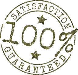 business brand logo marketing percent satisfaction seal 100 guarantee