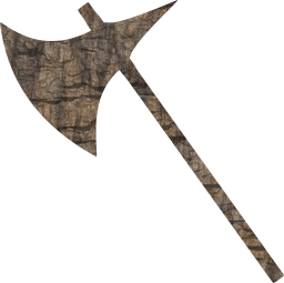 axe weapon metal wood medieval arms execution iron wooden arm battle