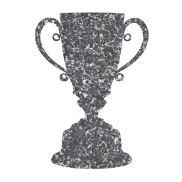 second cut position contest no silver background next out ceremony achievement free challenge set cup trophy best award symbol up prize two not masked place success number isolated 2 competition runner champion