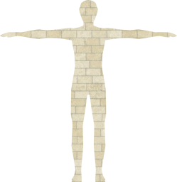 d shaded person flat low 3d rainbow human male people grayscale body chromatic art svg polygons anatomy man prismatic three poly model geometric monochrome boy abstract