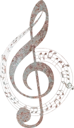 ornamental rainbow clef decorative bass typography chromatic aural musical art svg sound sonic hearing prismatic ears music treble composition notes audio