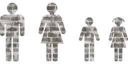 people child girl symbol woman boy man family