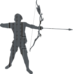 bow combat arrow archer fighter battle boy man shoot warrior male