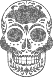 death dead skeleton halloween day skull mexican