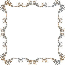 svg flourish ornamental decorative floral border abstract frame design art