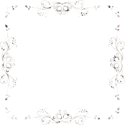 svg flowers leafy flourish ornamental decorative floral leaves border abstract frame design art