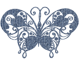 design jewel flourish silver decorative ornament butterfly metal graphic