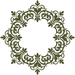 svg flourish ornamental vintage classic decorative floral border damask geometric abstract frame art