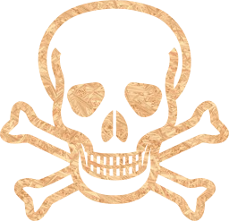 toxic death deadly piracy cancer dead halloween poison pirate skull cross danger crossbones head bones poisonous