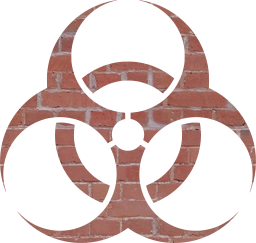 toxic warning symbol biohazard caution poison danger