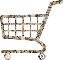 cart shopping supermarket ecommerce shop basket trolley metal e-commerce