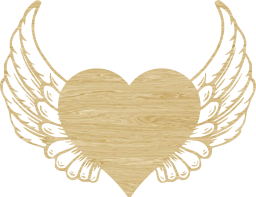 wing valentine love cupid heart