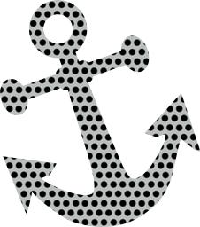 ocean security steel symbol boat equipment isolated naval nautical marine anchor design shiny