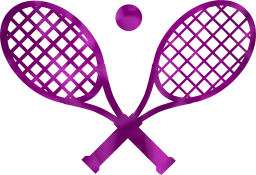 crossed ball tennis sport game