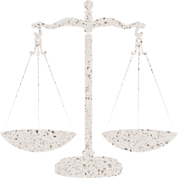 law scales gold orange fairness weight empty justice equality