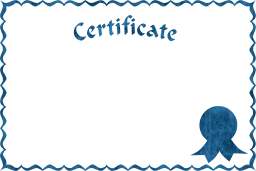 award diploma certification certificate document