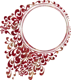 patterns elegant antique tattoos vintage decorative floral circle mirror celtic round frame designs