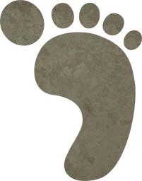 barefoot imprint child footprint human baby toes