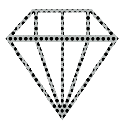 brilliant logo diamond