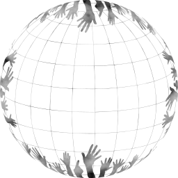 ball earth globe about hands globalization access