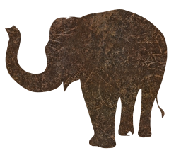 wild african nature wildlife elephant animal cartoon zoo cute animals mammal pretty safari symbol tattoo jungle happy design painted