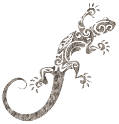 tail wild fauna lizard tribal nature wildlife tropical animal sign decorative zoo vertebrate symbol pet iguana pattern chameleon reptile small design