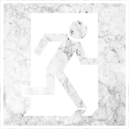 symbol emergency sign way door exit