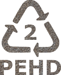 symbol plastic sign recycling 2 recycle