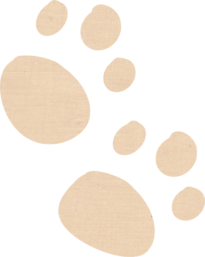 Fabric 003] paws animal imprint impression - Free images